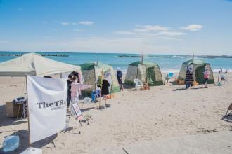 阿字ヶ浦でビーチサウナセッション 海やビーチの新たな可能性と体験提供