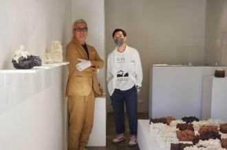 水戸で伊藤公象さん展覧会 「何度もギャラリーを訪れて」