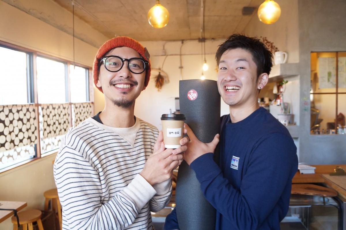 主催の福留さん(写真右)と浅部さん(写真左)