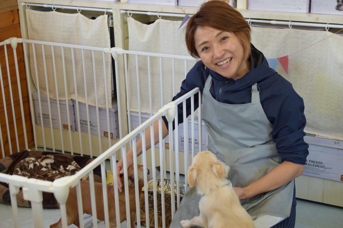「はちまめ」をオープンしたオーナーの峰崎留美さん