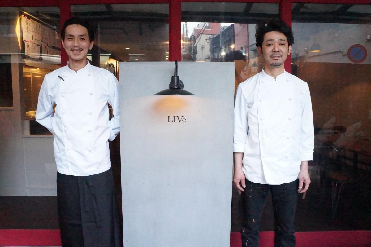 「大人の女子会として利用して」と話す店長の平山健太さん(右)と料理長の壱岐正己さん(左)