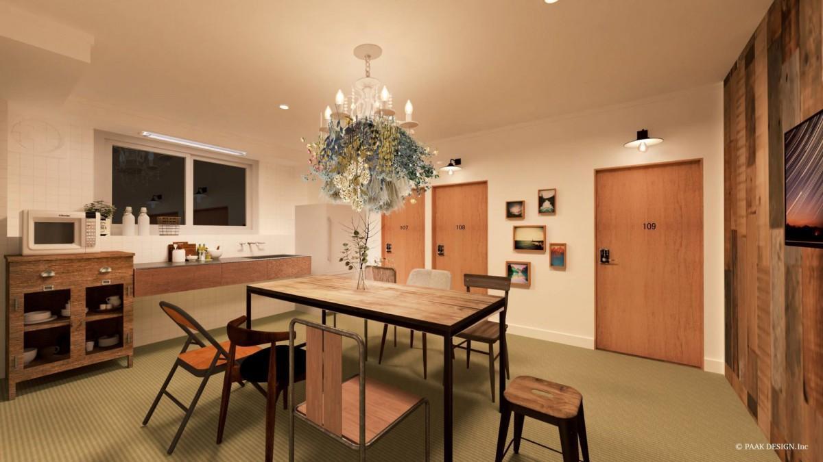 2月に日南市飫肥地区にオープンした「Hostel Marika」