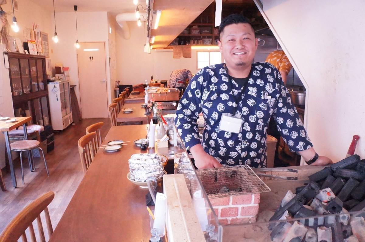 「毎日通いたくなる店にしたい」と話す店主の後藤研介さん
