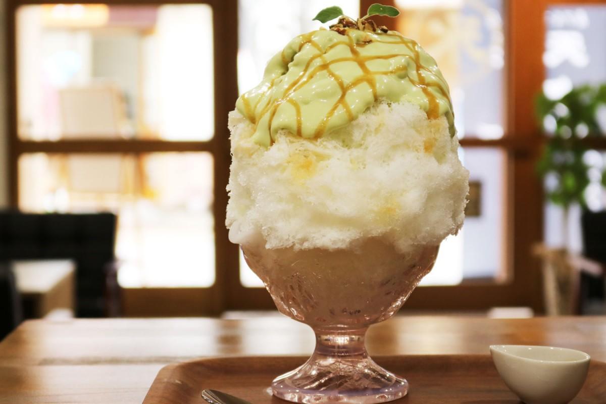 1日限定5食の「アボカド豆乳キャラメル」