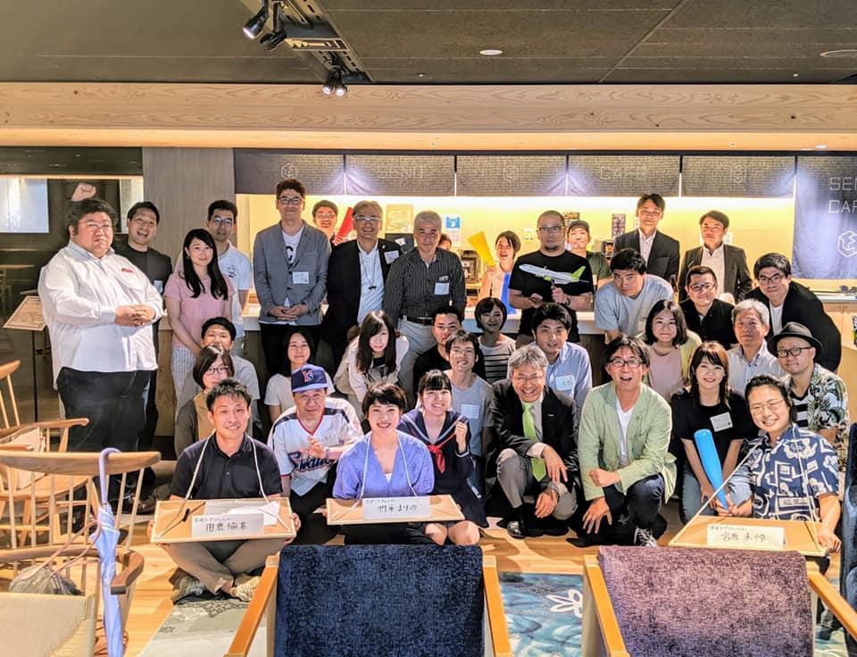 東京で行われた選手募集の説明会の様子