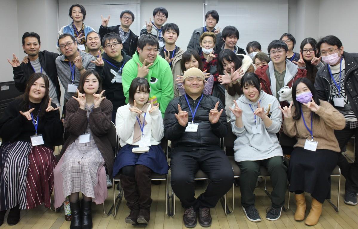 2月9日の宮崎人狼会3周年会に参加したプレイヤーたち