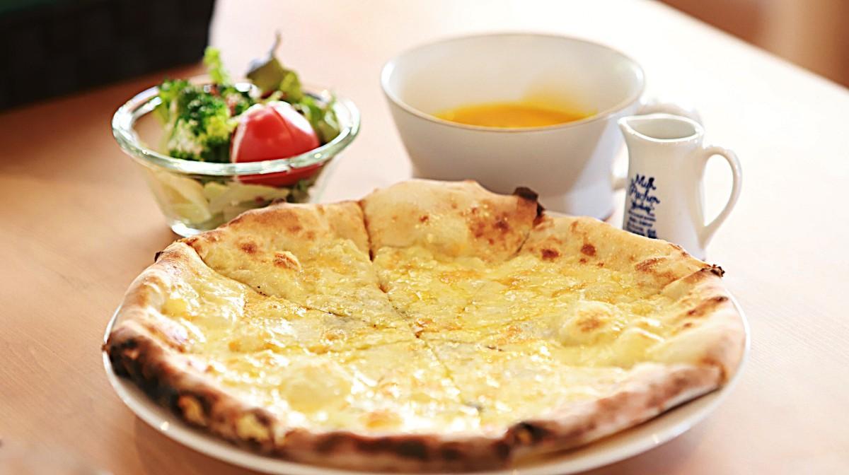 「4種のチーズ」(1,400円)