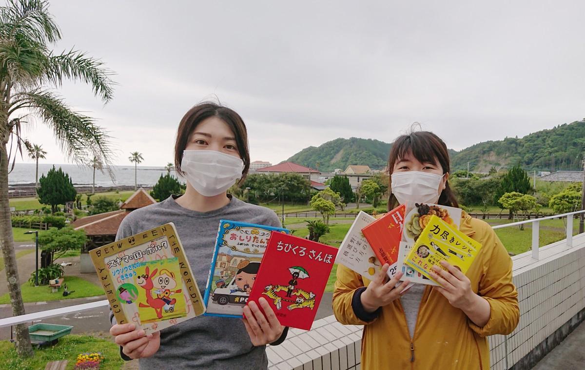 (画像左から)スタッフの仁田千夏さんと三浦恭子さん