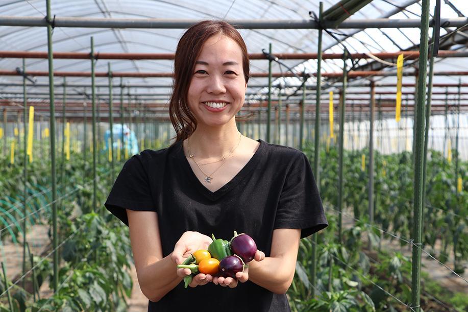 農業が抱える課題を解決したいと励む「みらい畑」代表の石川美里さん