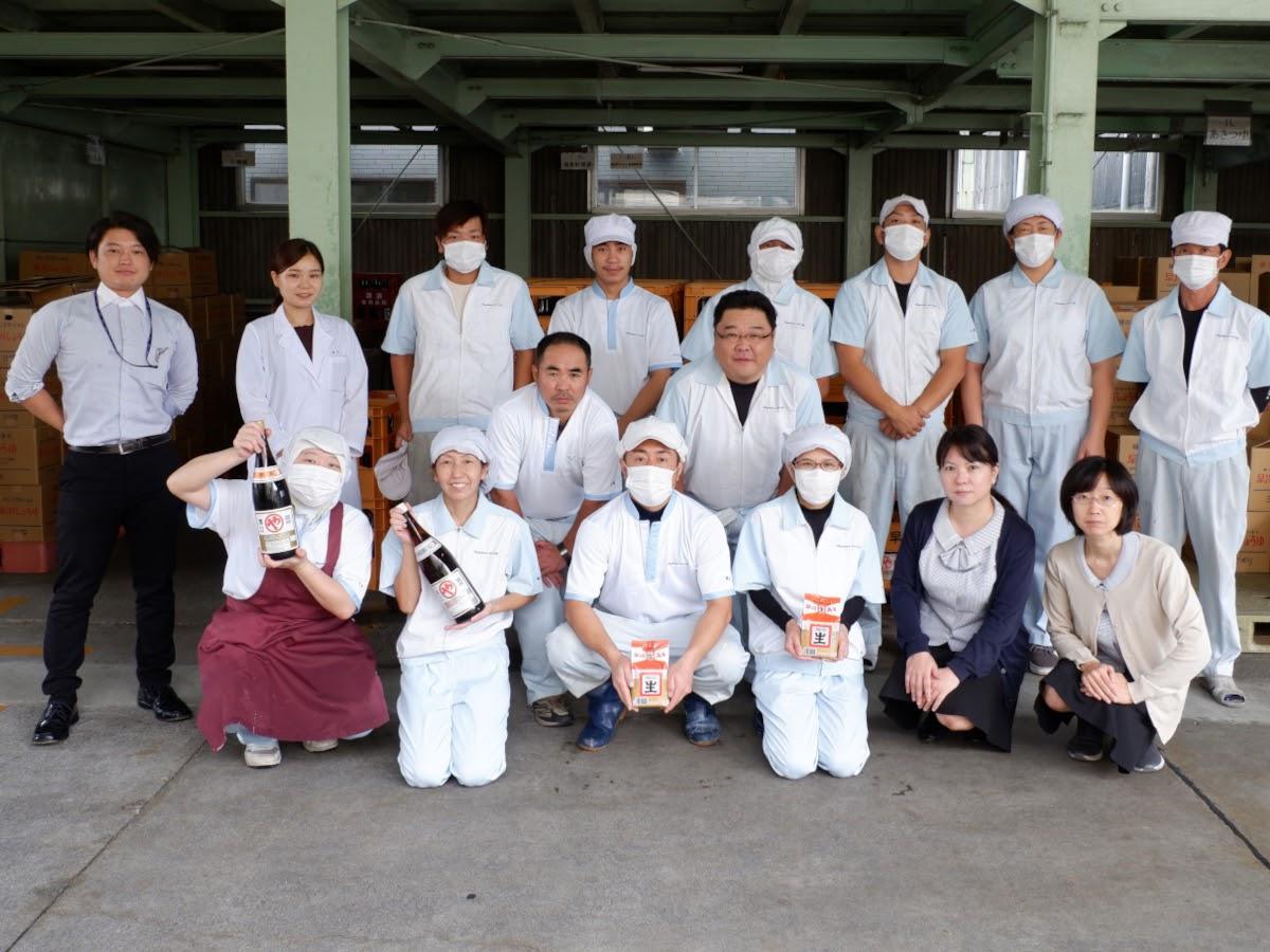 都城市の「早川しょうゆみそ株式會社」が創業135周年を迎えた