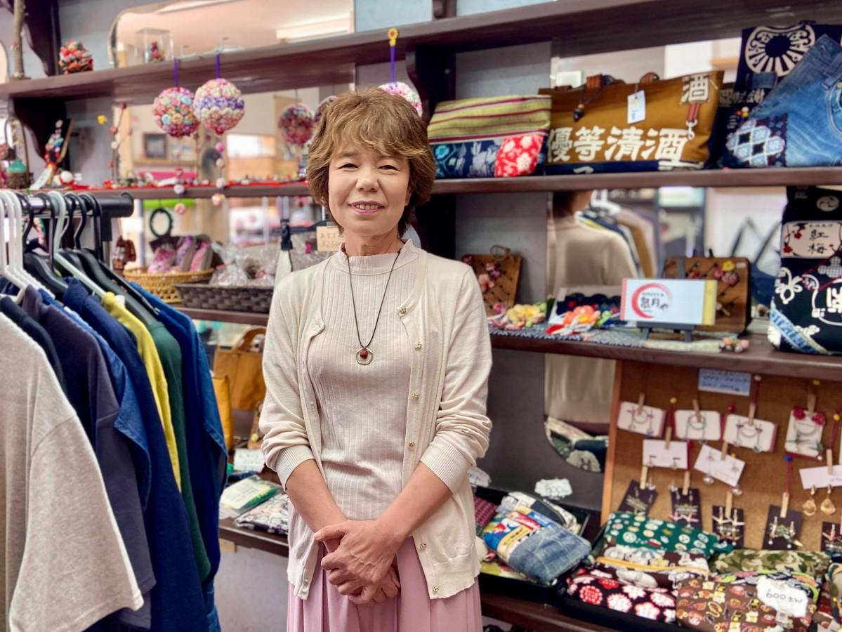 店主の勝吉さん