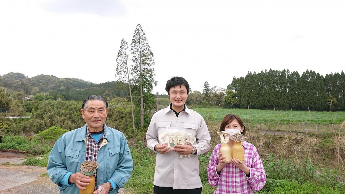 左から齋藤洋光さん、重永和樹さん、重永葵さん