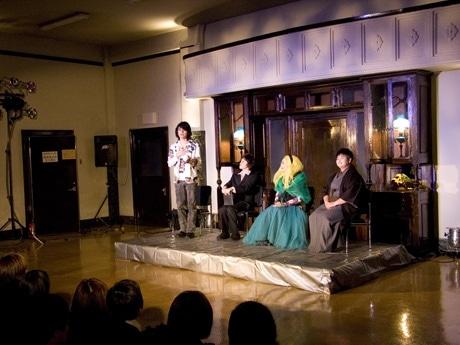 岩手県公会堂の2階21号室を会場に行われたオン・シアター自在社の舞台公演