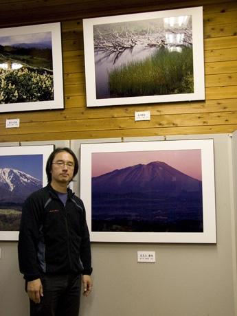 今年から念願の「岩手県民」なった多賀谷真吾さん。日本山岳写真協会ほか、日本スキー学会、日本旅行作家協会会員など多彩な顔を持つ