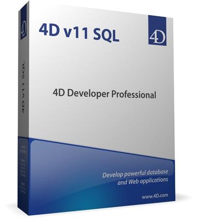 「4Dv11 SQL」のパッケージ