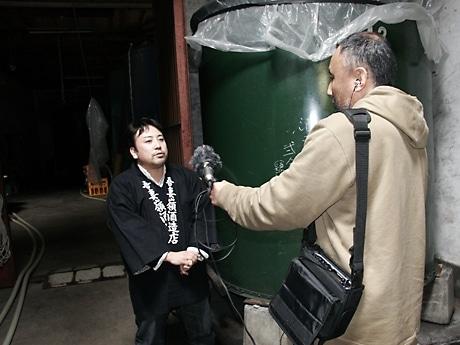 紫波町の酒蔵がポッドキャストで情報配信-蔵元自らがトーク出演