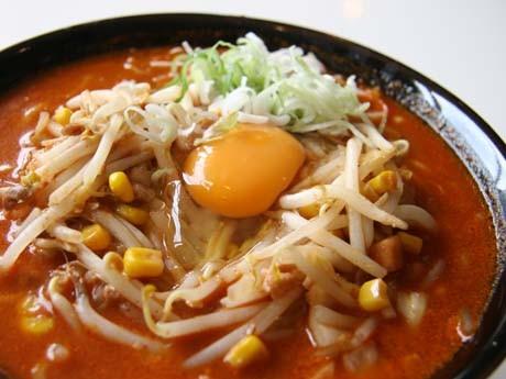 柳家で人気の「納豆キムチラーメン」