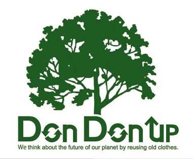 世界樹「ユグドラシル」をイメージした新社名「ドンドンアップ」のロゴマーク。北欧神話に描かれているという。