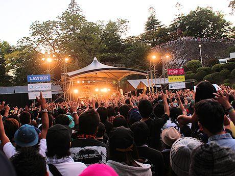 「いしがきミュージックフェスティバル2014」の様子