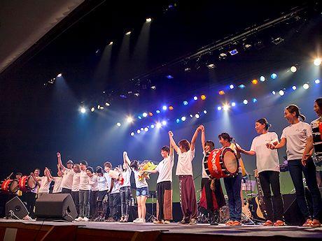 9月13日に行われたハニカムワールドコンサートの様子