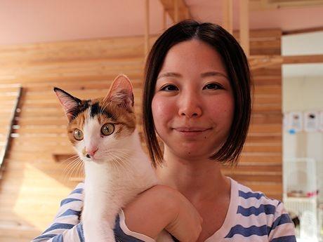「盛岡の動物愛護センター設立に向けご署名お願いします」と工藤さん