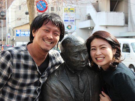 co-ba KESENNUMAの杉浦恵一さんとブログ「盛岡さんぽ」著者浅野聡子さん
