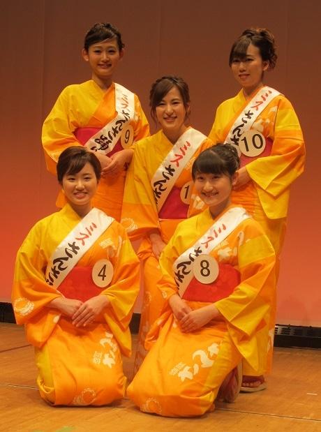 「第39回盛岡さんさ踊り」を彩る5人の2016ミスさんさ踊り