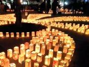 盛岡で「祈りの灯火2017」今年も 震災6年目の今を伝えて