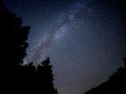 雫石スキー場で「星空ツアー」今年も 「銀河ロープウエー」で夜空の散歩楽しんで