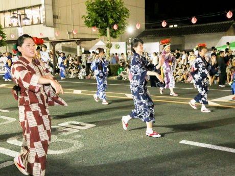 盛岡伝統さんさチーム「自由浴衣組」今年も 伝統さんさをもっと気軽に