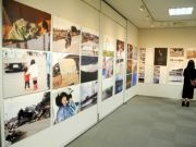 盛岡で石井麻木さん写真展 被災地へ通った6年間の思い伝えて