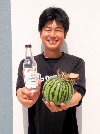 岩手・滝沢スイカのサイダー
