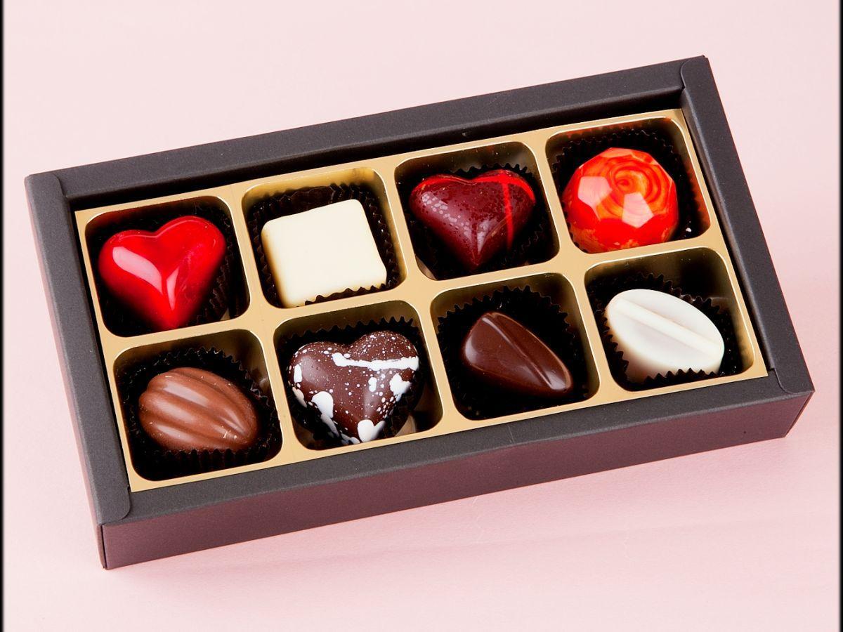 一粒一粒に素材とこだわりを詰めたという「Iwateのご馳走ショコラ」