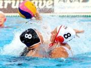盛岡で水球エキシビションマッチ カナダ代表対日本代表