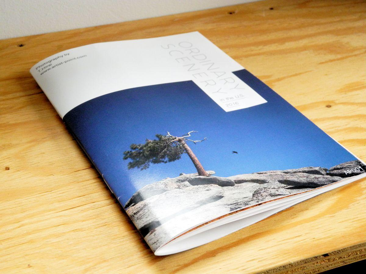写真展の開催に合わせて販売するZINEの表紙