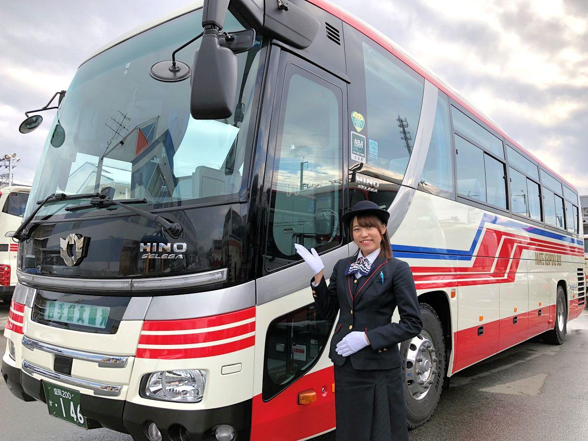 「プロが選ぶ優良観光バス30選」に選ばれた岩手県北バス