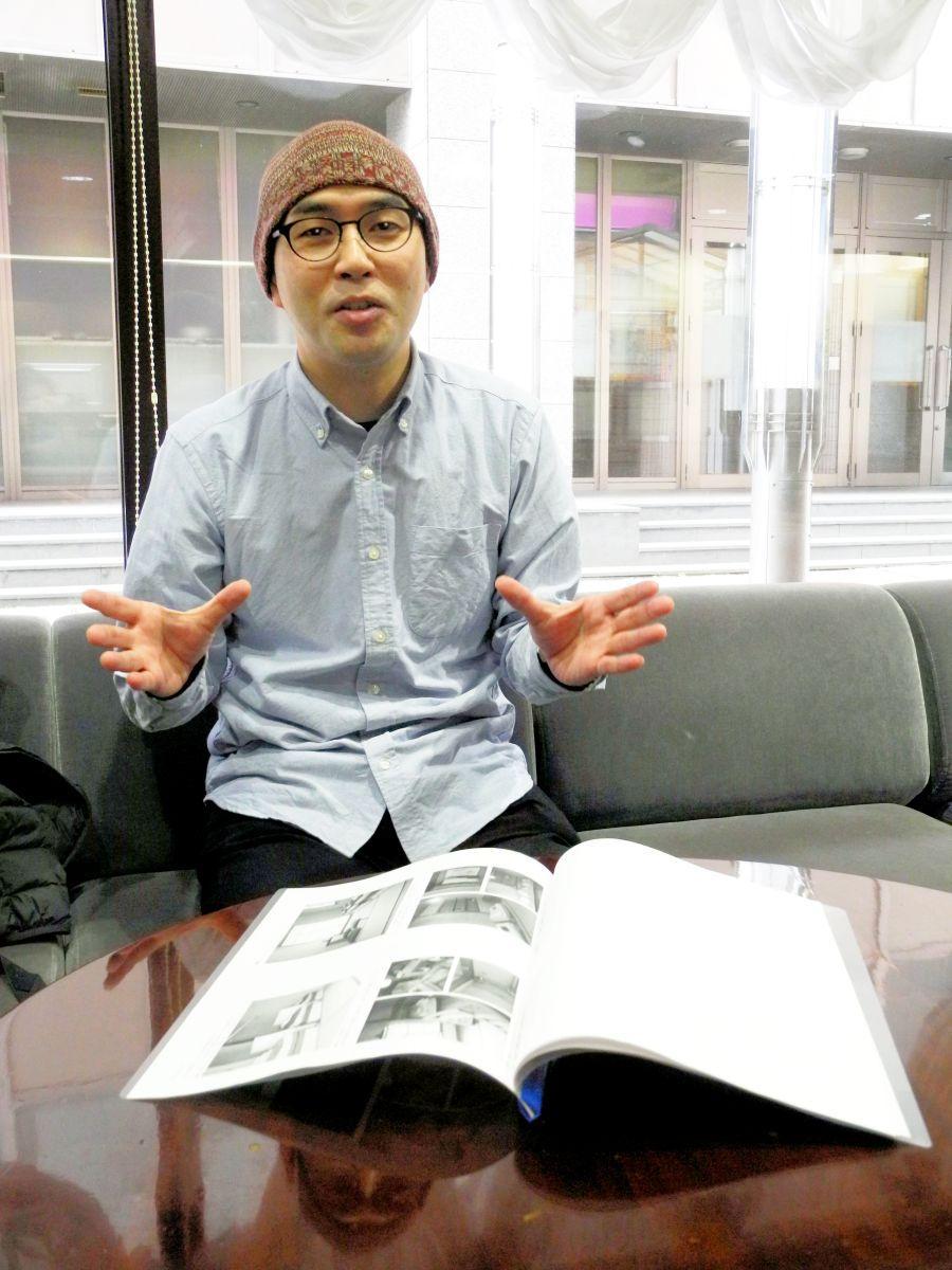 「泊まれるたまり場」の構想を語る小野寺さん