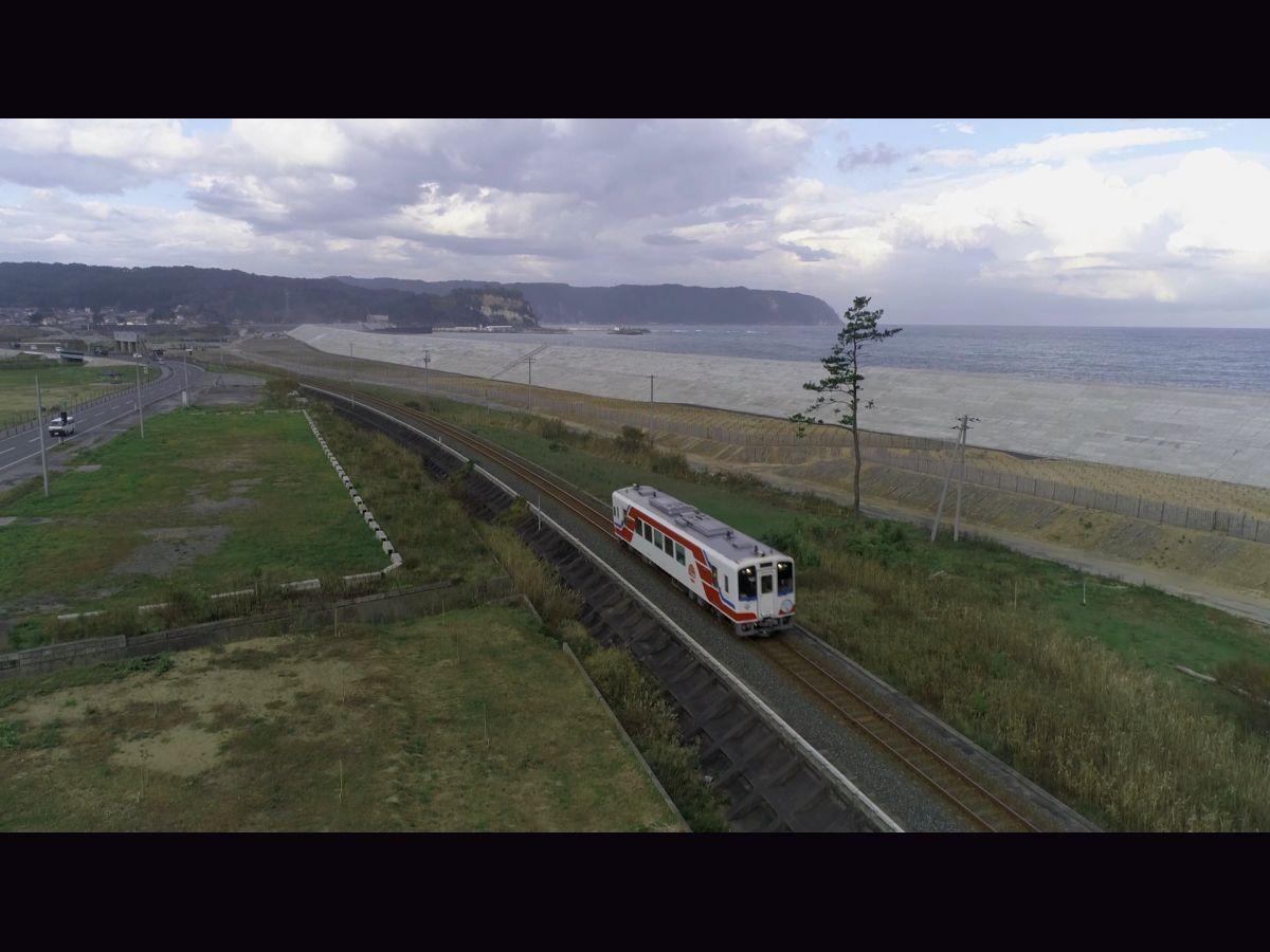 岩手県復興情報発信 WEB 動画「復興新時代をいわてから。 三陸鉄道編」より