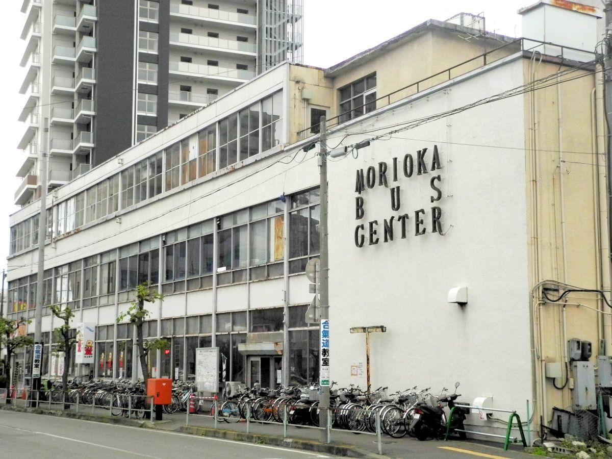 旧盛岡バスセンターの建物