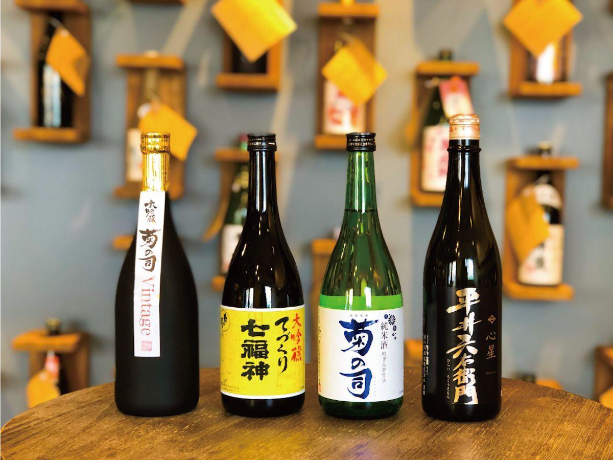 菊の司酒造の代表銘柄「菊の司」