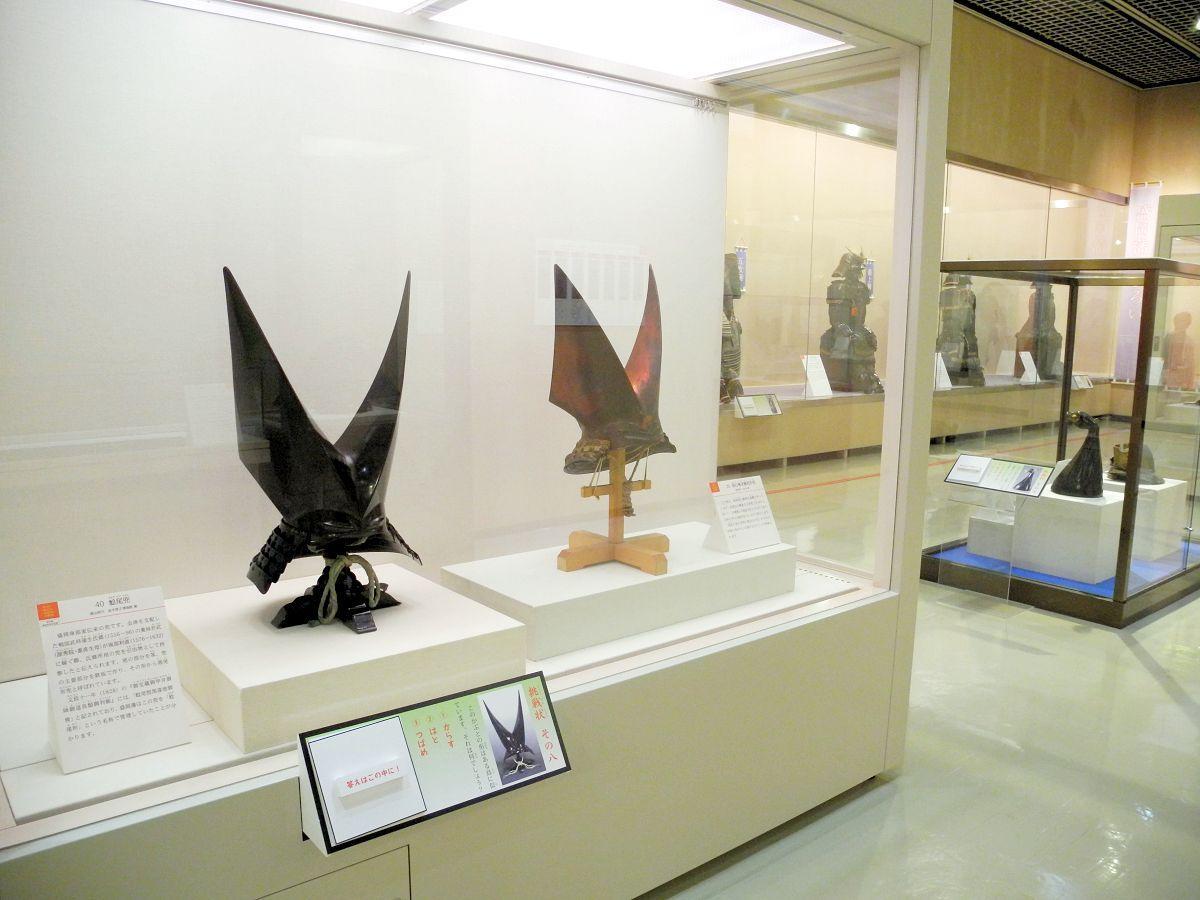 鎧と兜がメインの特別展示室