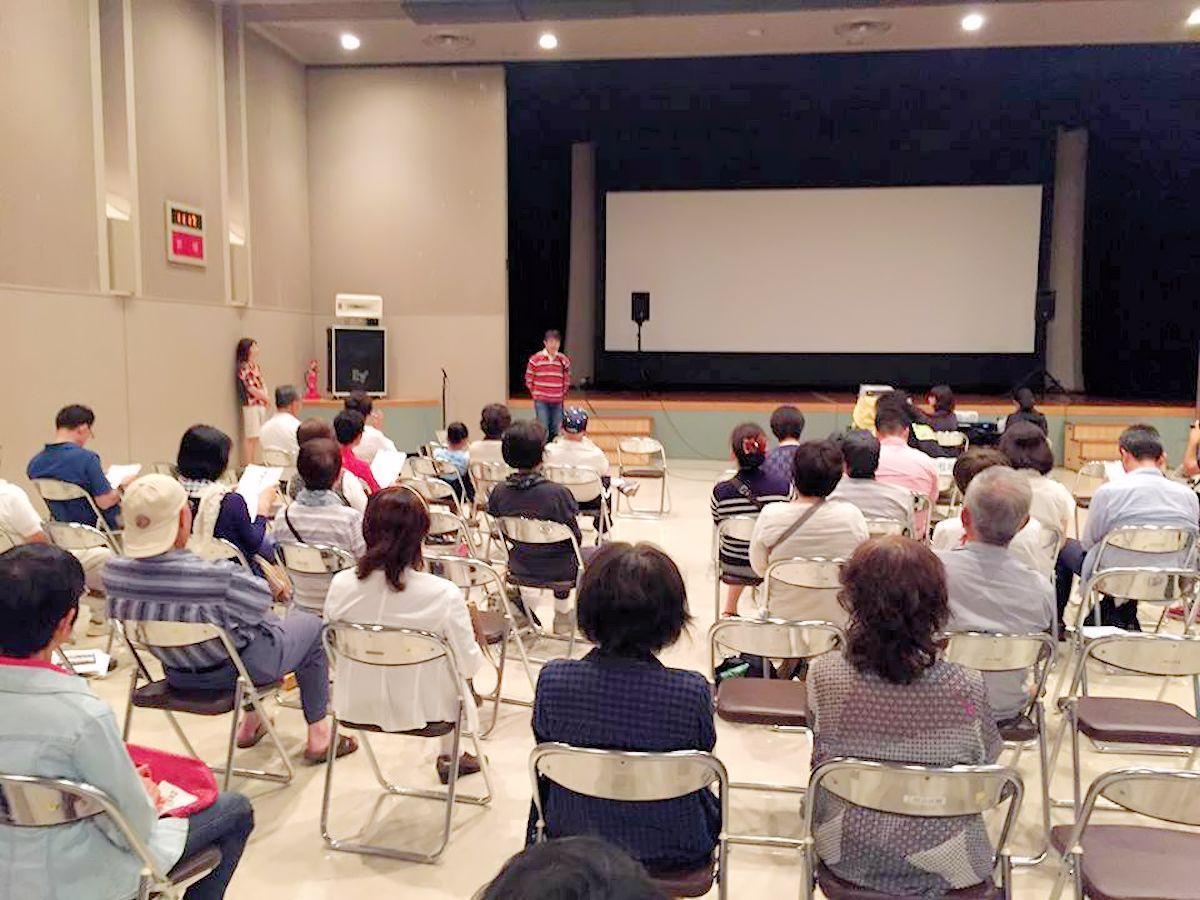 「盛岡たかまつ手づくり映画祭」上映会の様子