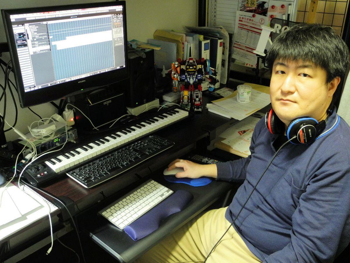 講師を務める「岩手県DTMの会」会長の後川さん。「DTMに一緒に挑戦しましょう」と呼び掛ける