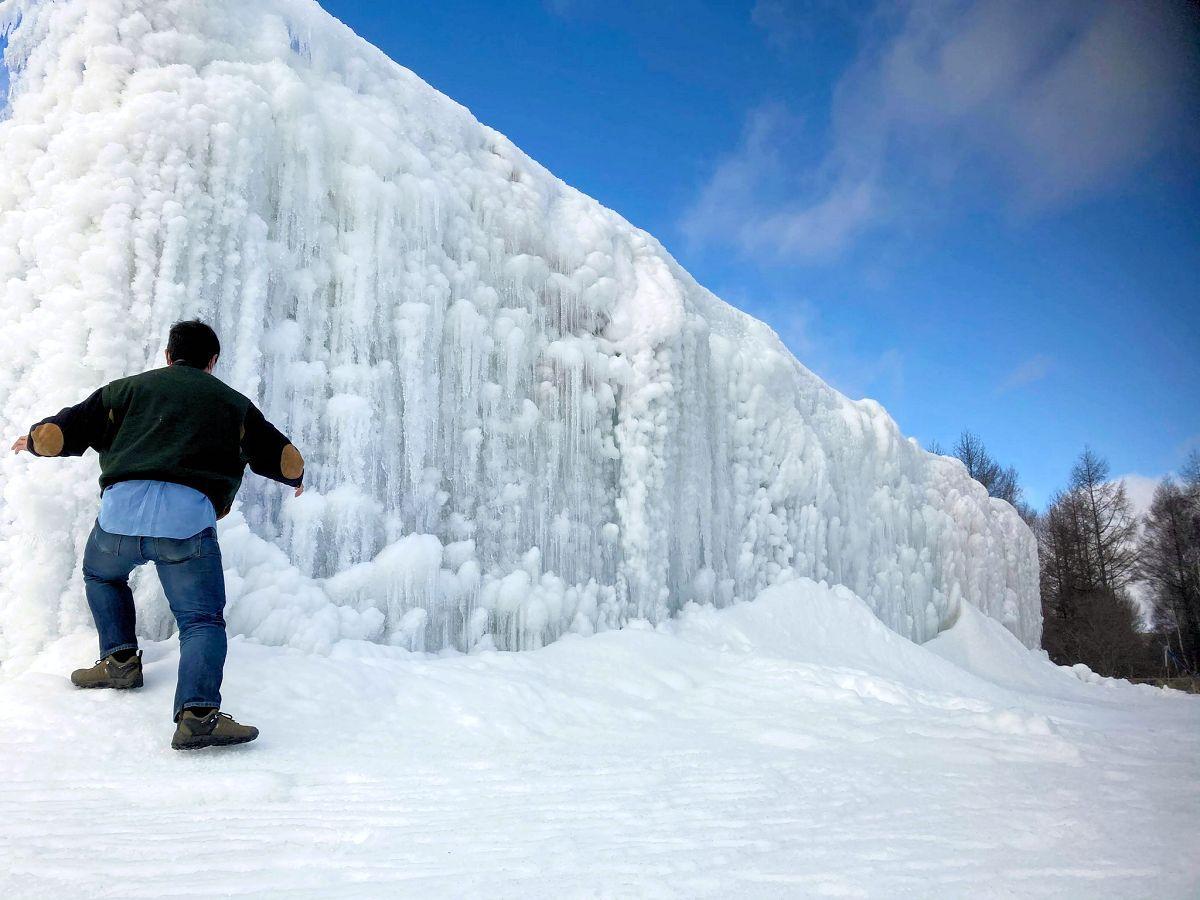 盛岡市・薮川で「氷の世界」プロジェクト 寒さを生かして氷のテーマ ...