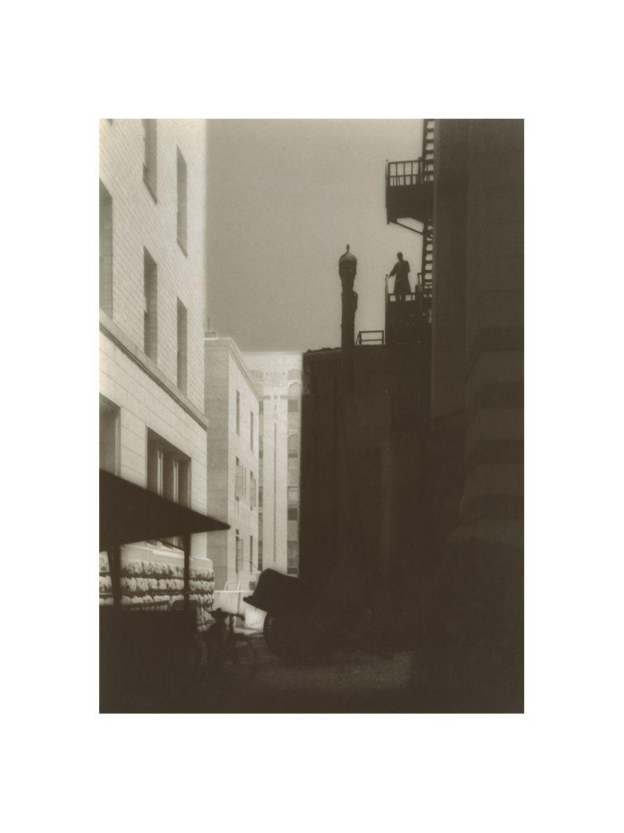 唐武《丸の内三題(其の二)》1928年 岩手県立美術館所蔵