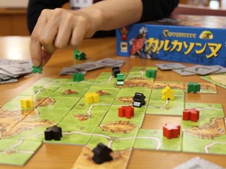 ボードゲーム「カルカソンヌ」