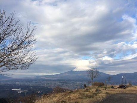 富士山と小山町