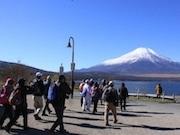 富士山麓でウオーキングイベント 世界遺産構成資産20カ所巡る