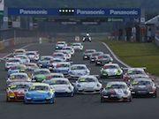 富士スピードウェイでポルシェのイベント レースや名車デモ走行、試乗など