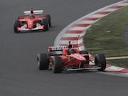 富士スピードウェイでフェラーリの祭典 フェラーリ250台が集結
